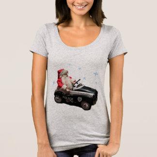 Camiseta Papai noel da polícia