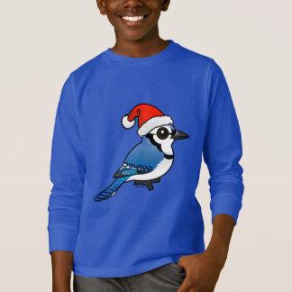 Camiseta Papai noel de Jay azul