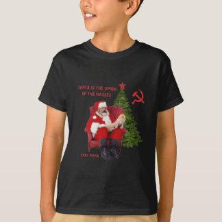 Camiseta Papai noel de Karl Marx