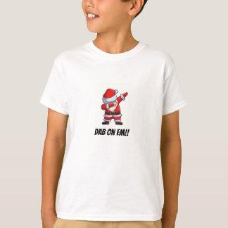 Camiseta Papai noel de toque ligeiro