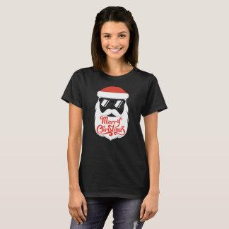 Camiseta Papai noel do hipster