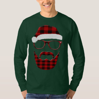 Camiseta Papai noel do hipster