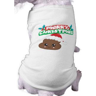 Camiseta Papai noel do Natal de Emoji do tombadilho