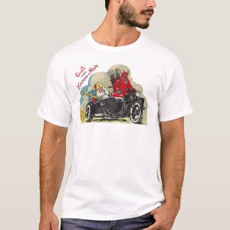 Camiseta Papai noel do side-car