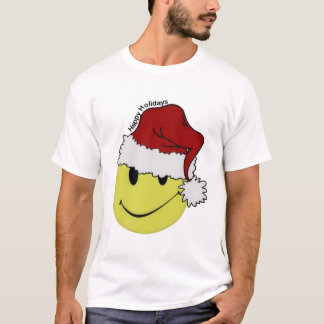 Camiseta Papai noel do smiley