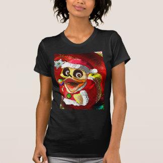 Camiseta Papai noel Ducky de borracha dos Cocos