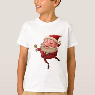 Camiseta Papai Noel e a dança do sino