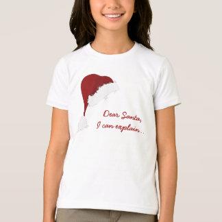 Camiseta Papai noel, eu posso explicar…