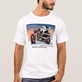Camiseta Papai noel foragido