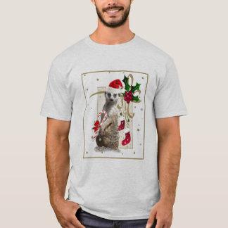 Camiseta Papai noel Mousepad de Meerkat