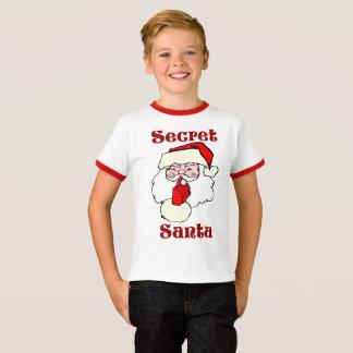 Camiseta Papai noel secreto no Natal