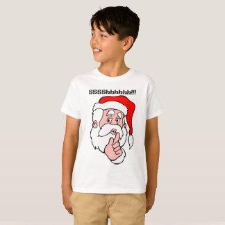 Camiseta Papai noel secreto Sssshhhh!!