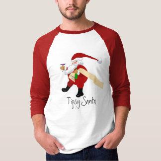 Camiseta Papai noel Tipsy