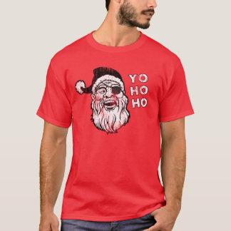 Camiseta Papai noel Yo Ho Ho