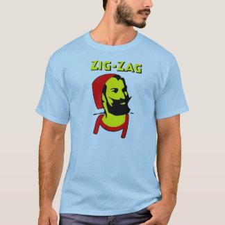 Camiseta Papéis do ziguezague