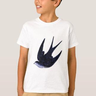 Camiseta papel da andorinha cortado (livre)