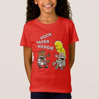 Camiseta Papel Wedgie da rocha do capitão Cuecas |