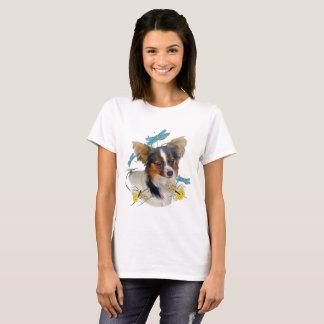 Camiseta Papillon e t-shirt das libélulas