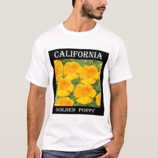 Camiseta Papoila do ouro de Califórnia