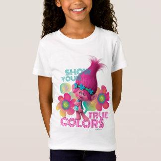 Camiseta Papoila dos troll | - mostre suas cores
