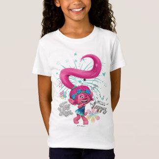 Camiseta Papoila dos troll | olá! feliz