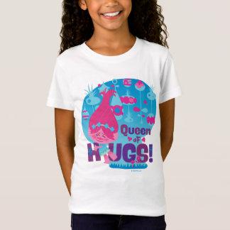 Camiseta Papoila dos troll | - rainha dos abraços!