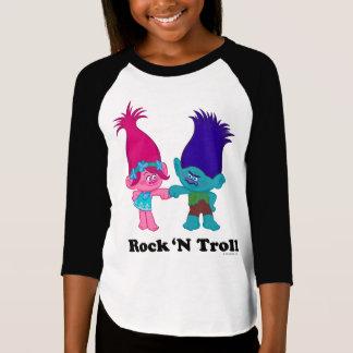 Camiseta Papoila dos troll | & ramo - troll de N da rocha '