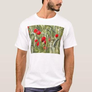 Camiseta Papoilas de milho