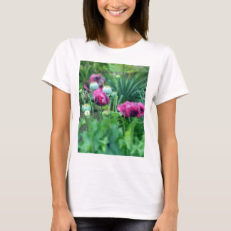 Camiseta Papoilas de ópio