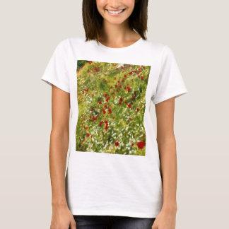 Camiseta Papoilas impressionista