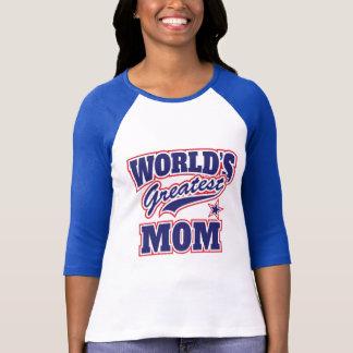Camiseta Para a grande mamã do mundo