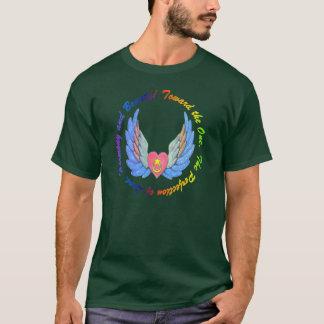Camiseta Para a uma parte superior