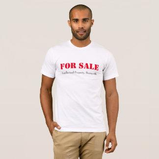 Camiseta Para a venda - propriedade intelectual,