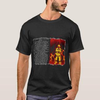 Camiseta Para amar um sapador-bombeiro