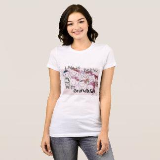 Camiseta para avós (tons silenciado)