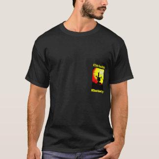 Camiseta Para baixo às estradas transversaas