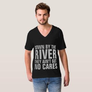 Camiseta PARA BAIXO pelo RIO, VINTAGE T-shrits RETRO