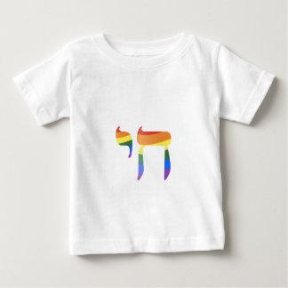 Camiseta Para Bebê חי de Chai