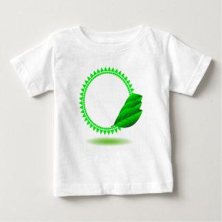 Camiseta Para Bebê 100Green Icon_rasterized
