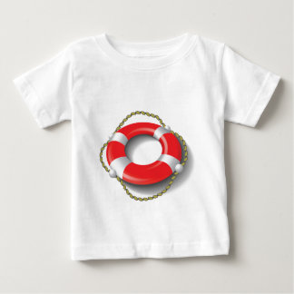 Camiseta Para Bebê 107Lifebuoy _rasterized