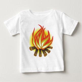 Camiseta Para Bebê 109Fire _rasterized