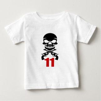 Camiseta Para Bebê 11 designs do aniversário