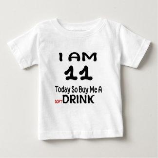Camiseta Para Bebê 11 hoje compre-me assim uma bebida