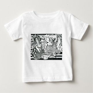 Camiseta Para Bebê 12 mandamentos
