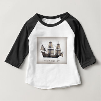 Camiseta Para Bebê 1578 ouro Hinde