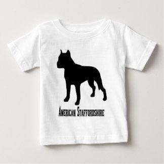 Camiseta Para Bebê 1715112006 Staffordshire Terrier americano