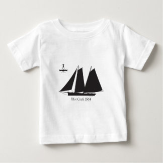 Camiseta Para Bebê 1864 artesanato piloto - fernandes tony