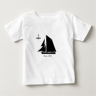 Camiseta Para Bebê 1873 barca - fernandes tony