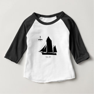 Camiseta Para Bebê 1873 trow - fernandes tony