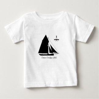 Camiseta Para Bebê 1882 draga da ostra - fernandes tony